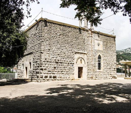 كنيسة مار يوحنا المعمدان القديمة image